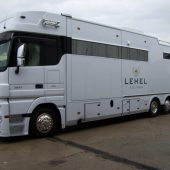MERCEDES-BENZ ACTROS 2541 LEHEL 6 stalles